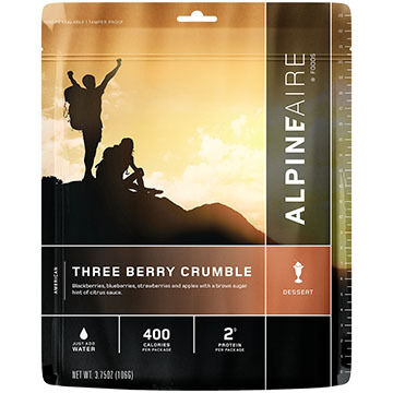 AlpineAire Three Berry Crumble Dessert - 2 Servings