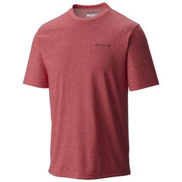 Columbia Mens Thistletown Park Crew-Neck Short-Sleeve Shirt
