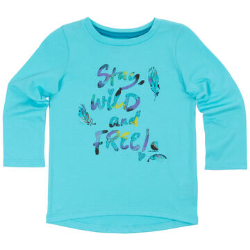 Carhartt Infant/Toddler Girls Stay Wild & Free Short-Sleeve T-Shirt