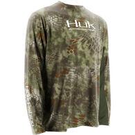 Huk Men's Kryptek Icon Long-Sleeve Fishing Shirt