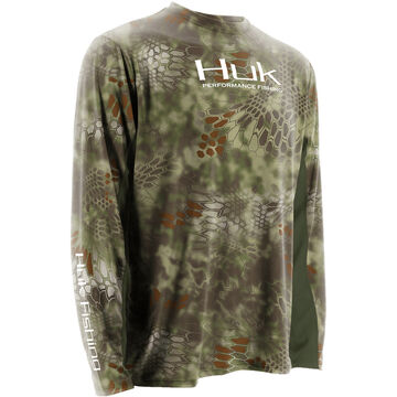 Huk Kryptek Icon Long-Sleeve Fishing Shirt