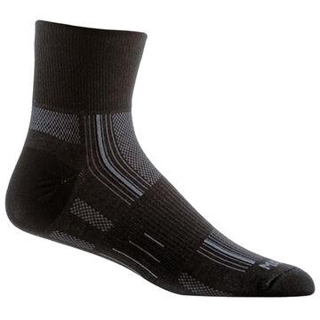 WrightSock Mens Stride Quarter Sock
