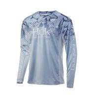 Huk Men's Icon X Current Camo Fade Long-Sleeve Shirt