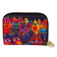 Fig Design Women's Fantasticats RFID Zippered Wallet