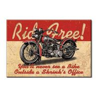 Desperate Enterprises Ride Free Ice Box Magnet