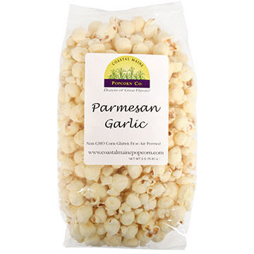 Coastal Maine Popcorn Co. Parmesan Garlic Popcorn