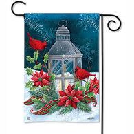 BreezeArt Cardinal Christmas Garden Flag
