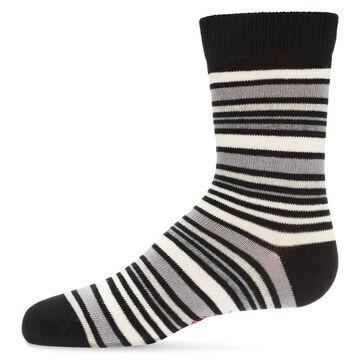 MeMoi Boys Multi Stripe Crew Sock