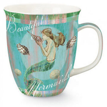 Cape Shore Maine Mermaid Dreams Harbor Mug