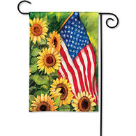 BreezeArt American Sunflowers Decorative Garden Flag