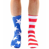 Living Royal Men's Stars & Stripes Crew Sock