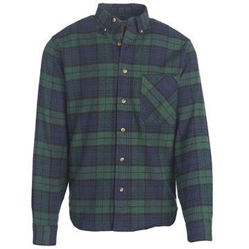 Woolrich Mens Tall Pine Flannel Long-Sleeve Shirt