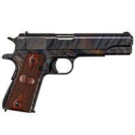 "Auto-Ordnance Case Hardened 1911 U.S. Logo Grip 45 Cal. 5"" 7-Round Pistol"
