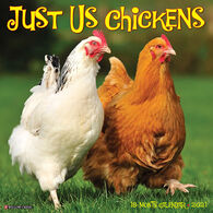 Willow Creek Press Just Us Chickens 2021 Wall Calendar