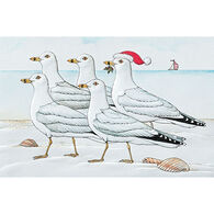 Pumpernickel Press Marching Gulls Deluxe Boxed Greeting Cards