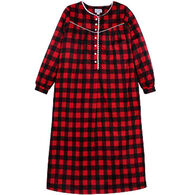 "Lanz Women's 46"" Fleece Nightgown"