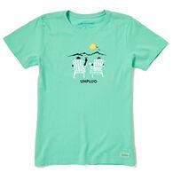 Life is Good Women's Unplug Peace Crusher Lite Short-Sleeve T-Shirt
