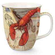 Cape Shore Maine Fresh Catch Lobster Harbor Mug