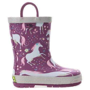 Western Chief Girls Fancy Horse Rain Boot