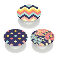 PopSockets PopMinis Fabstractions Mobile Device PopGrip Set