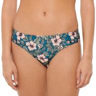 Hot Water Women's Floral Fest Hipster Swimsuit Bottom