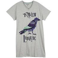 Hatley Little Blue House Women's Raven Lunatic Sleepshirt