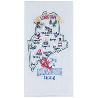Kay Dee Designs Maine Embroidered Flour Sack Towel