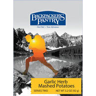 Backpacker's Pantry Garlic Herb Mashed Potatoes - 2 Servings