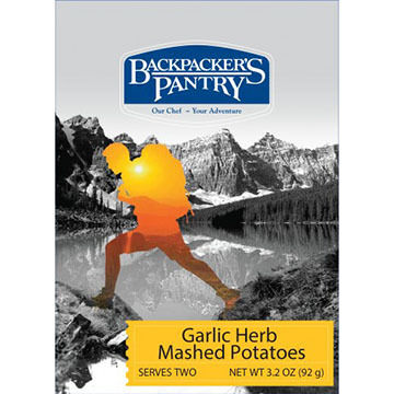 Backpackers Pantry Garlic Herb Mashed Potatoes - 2 Servings