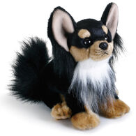 Nat & Jules Long-Haired Chihuahua Beanbag Stuffed Animal