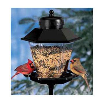 Audubon Coach Lamp Bird Feeder w/ Pole Kit