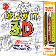 Klutz Draw It 3D Book Kit by Klutz