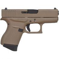 """Glock 43 FS FDE 9mm 3.4"""" 6-Round Pistol"""