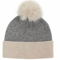 Mitchies Matchings Women's 2 Color Knit Hat