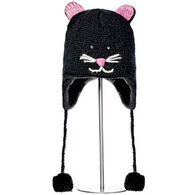 Knitwits Boys' & Girls' Kiki The Kitty Animal Hat