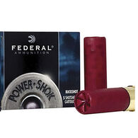 "Federal Power-Shok Buckshot 12 GA 3"" 15 Pellet 00 Buck Shotshell Ammo (5)"