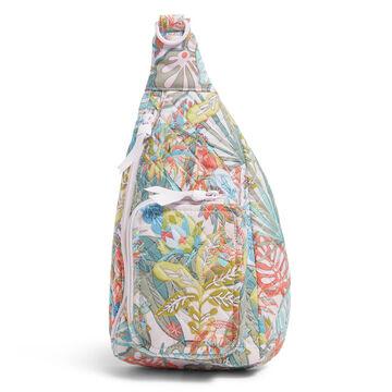 Vera Bradley Recycled Cotton Mini Sling Backpack