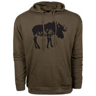 King's Camo Men's Triblend Moose Hoodie