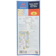 Maptech Folding Waterproof Charts of New England