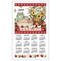 Kay Dee Designs 2020 Apple Pie Calendar Towel