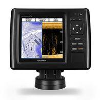 "Garmin echoMAP 5"" CHIRP 53cv Fishfinder w/ Transducer & LakeVu HD Maps"