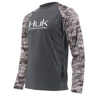 Huk Men's Elements Double Header Vented Long-Sleeve Fishing Shirt