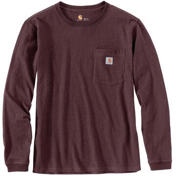 Carhartt Womens WK126 Workwear Long-Sleeve Pocket T-Shirt