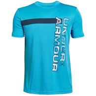 Under Armour Boy's UV Wordmark Short-Sleeve T-Shirt