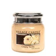 Village Candle Petite Glass Jar Candle - Creamy Vanilla