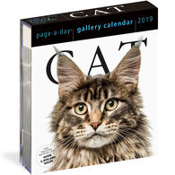 Cat 2019 Page-A-Day Gallery Calendar by Workman Publishing