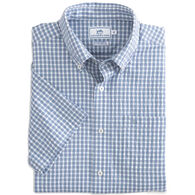Southern Tide Men's Lucayan Gingham Intercoastal Short-Sleeve Shirt