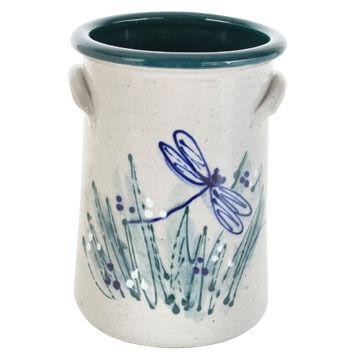 Great Bay Pottery Handmade Ceramic 9 Wine Cooler