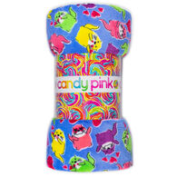 Candy Pink Otter Blanket