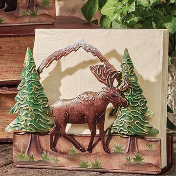 Park Designs Moose Lodge Napkin Holder
